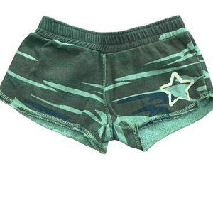 Vintage Havana Camo Print Shorts Girls size 14
